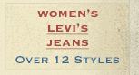 Womens Levis Jeans on Sale