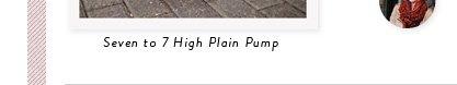 Seven to 7 High Plain Pump