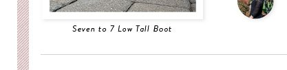 Seven to 7 Low Tall Boot