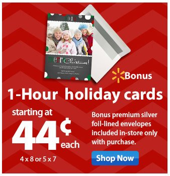 1-Hour holiday cards