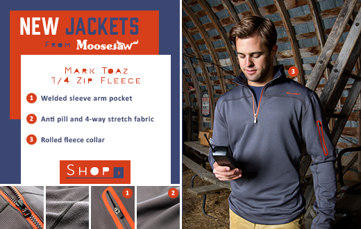 New Jackets From Moosejaw - the Mark Toaz