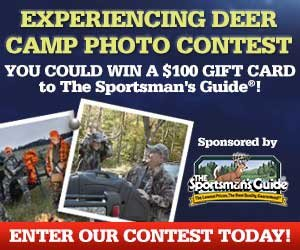 Enter our 'Deer Camp' Contest - win a $100 Gift Card!