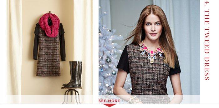 4. THE TWEED DRESS | SEE MORE