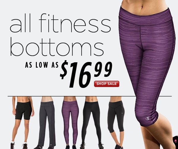 SHOP Fit Bottoms Sale