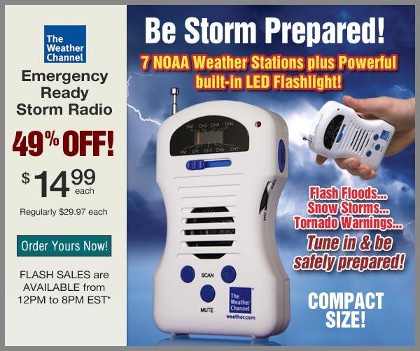 49% OFF Storm Radio