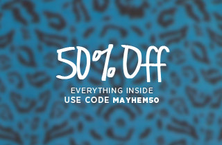 50% off everything inside!