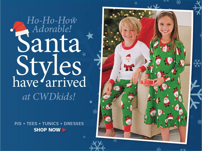 Santa Styles are here for the Holidays