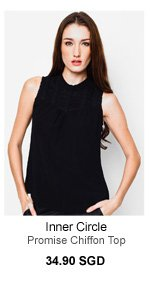 INNER CIRCLE Promise Chiffon Top