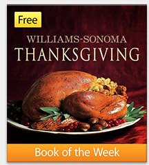Free Book of the Week: Williams-Sonoma Thanksgiving