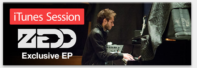 iTunes Session: Zedd
