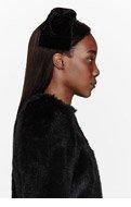 SIMONE ROCHA Black Velvet Hair Bow for women