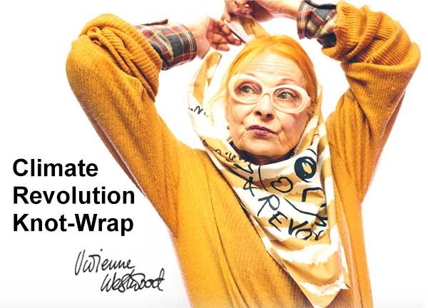 Did you know that an extra five million tons of waste is generated during the holiday season—most of which is wrapping paper and shopping bags? We think it's time for a revolution! We've teamed up with renowned fashion designer Vivienne Westwood to create a sustainable alternative to wasteful wrapping.