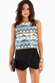 Aztec Sequin Top 35