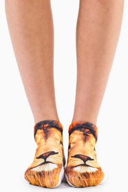 Lion Ankle Socks 5