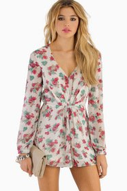 Searching For Flowers Romper 47