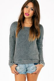 Mindi Acid Cropped Sweatshirt 50