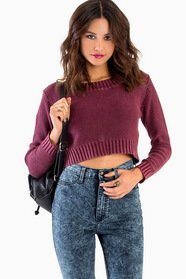 Cassie Cropped Sweater 47