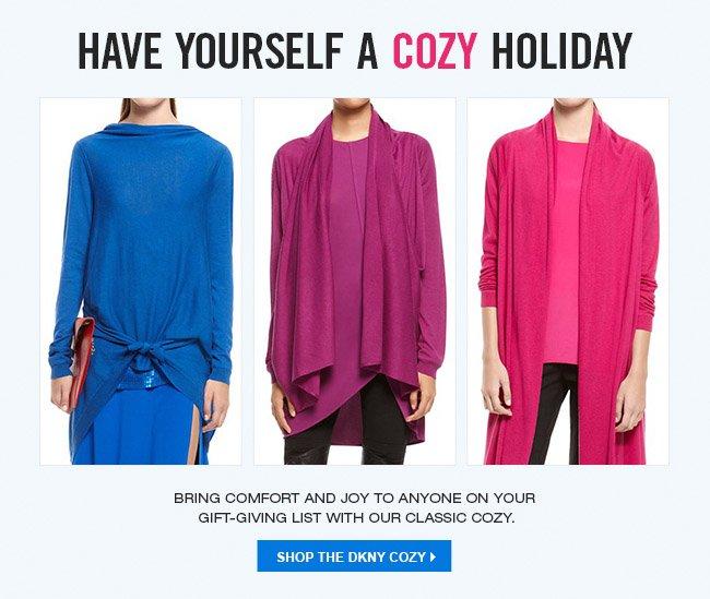 SHOP THE DKNY COZY