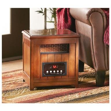Infrared Heater Side Table