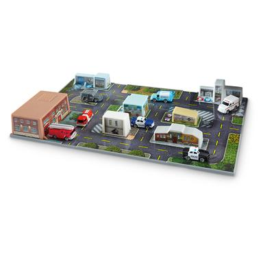 Sonix City™ Rescue Deluxe Playset with Bonus  Gas Station and Rescue Vehicles Sets