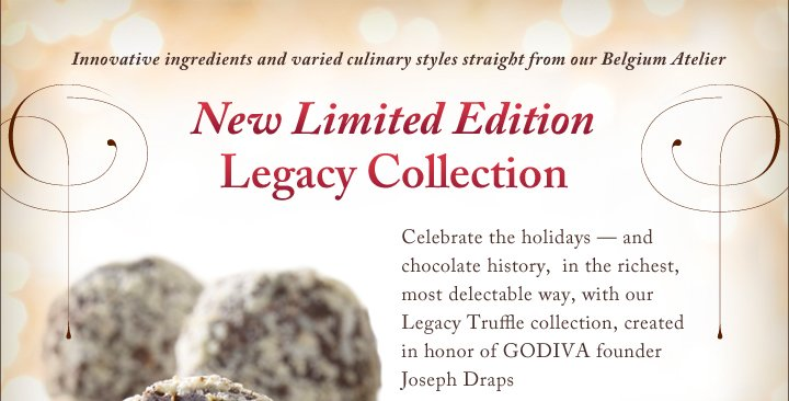 New Limited Edition Legacy Collection