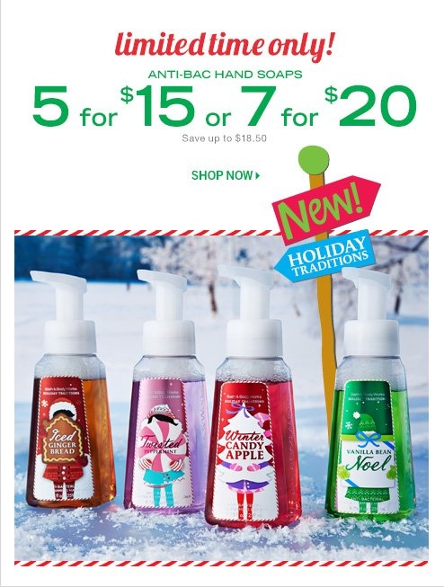 Anti-Bac Hand Soap – 5 for $15