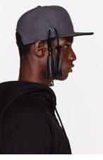 KTZ Silver Reflective TASSEL CAP for men
