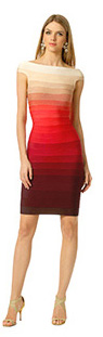 HERVE LEGER - Volcano Explosion Sheath