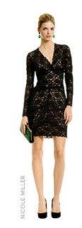 NICOLE MILLER - Kate Lace V Dress