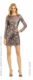 MARK AND JAMES BY BADGLEY MISCHKA - Mini Sequin Pixie Dress
