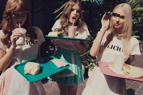 Wildfox Angels Off Duty Resort 2013. Shop Now.