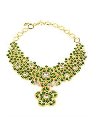 Amrita Singh Crystal Wainscott Necklace