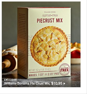 EXCLUSIVE - Williams-Sonoma Pie Crust Mix, $10.95