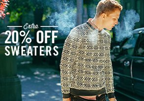 Shop Sweater Season: Extra 20% Off