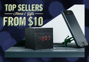 Shop Top Sellers: Home & Gifts from $10
