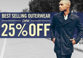 Shop Extra 25% Off: Winter Outerwear