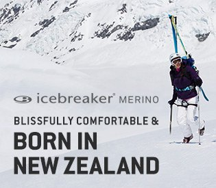 Icebreaker Baselayers for the Cold