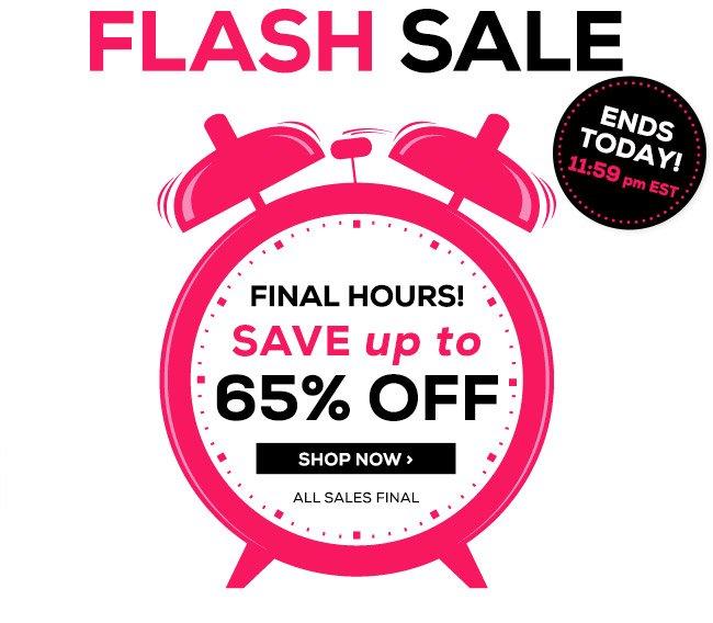 Last Chance Flash Sale