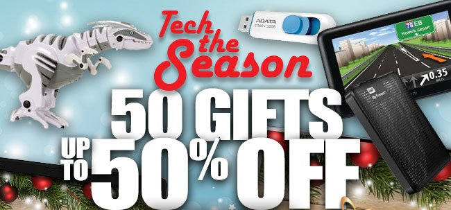 50 Gifts up to 50% Off