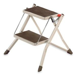 Adorama - Polder Two-Step Mini Stool Cappuccino