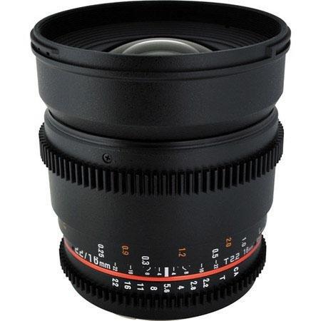 Adorama - Rokinon 16mm T2.2 Wide Angle Cine Lens