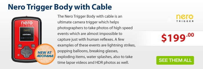 Adorama - Nero Trigger Body With Cable