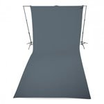 Adorama - Westcott Neutral Gray Wrinkle Resistant Backdrops