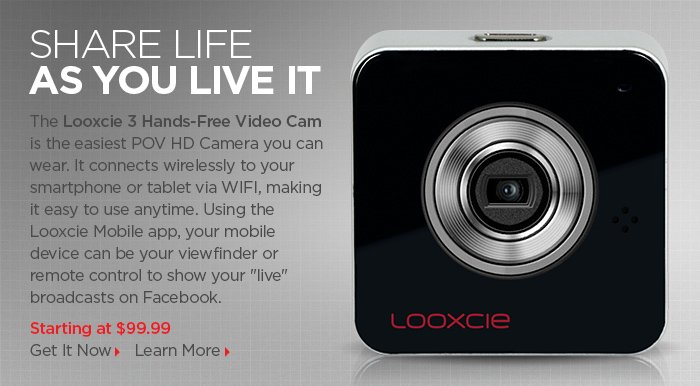 Adorama - Looxcie 3 Hands-Free Video Cam