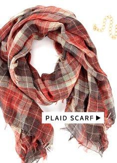 Menswear-Inspired Accessories: Shop Plaid Scarf