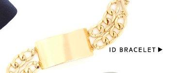 Menswear-Inspired Accessories: Shop ID Bracelet