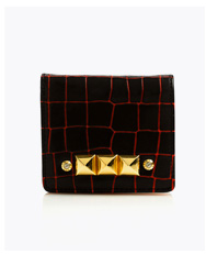 Henri Mini Croc Wallet