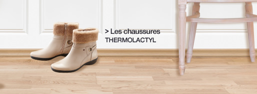 Les chaussures Thermolactyl