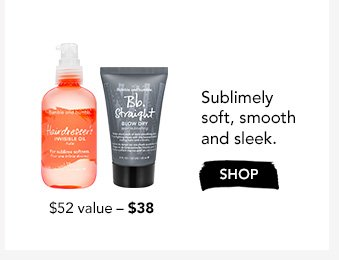 Sublimely soft, smooth and sleek.$38 ($52 value)›SHOP