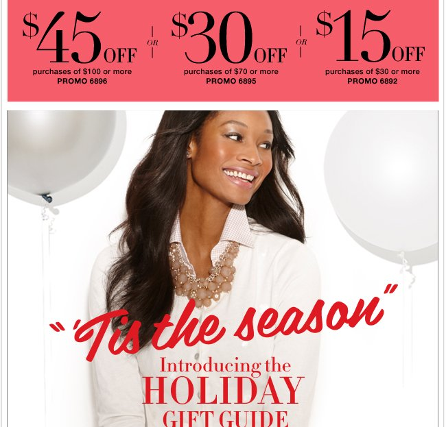 Save $45 in stores & online!